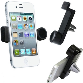 Universal 360 Rotating In Car Air Vent Mount Holder Cradle Stand for Most Mobile Phone GPS Car Air Vent  Phone Holder Mount