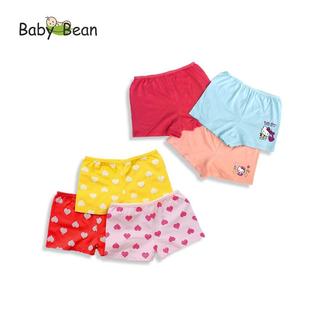 Quần Chíp Đùi 1 chiếc Bé Gái BabyBean (màu ngẫu nhiên)