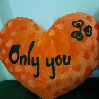 GỐI TRÁI TIM CAO CẤP – Only You Chỉ Mình Em/Anh – Quà Tặng Thật Sự Ý Nghĩa