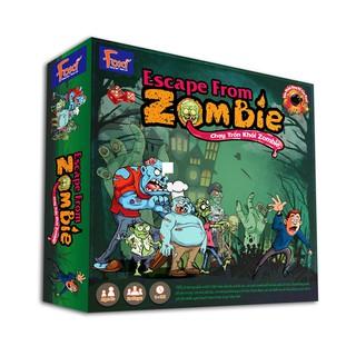 Board game-Escape from Zombie Foxi-Đồ chơi trẻ em-vượt lên trên nghịch cảnh hay nhất