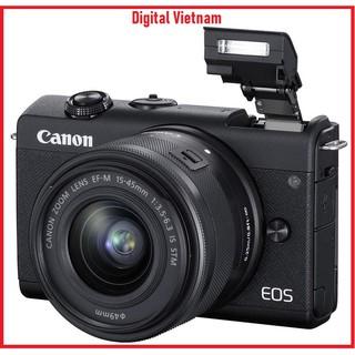 MÁY ẢNH CANON EOS M200 KIT EF-M15-45MM F3.5-6.3 IS STM + EF-M 22MM F2 STM