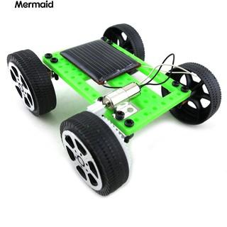 Mini Solar Powered Racing Car Vehicle Educational DIY Gadget Kit Kids Toy