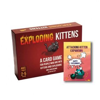 Bài Mèo Nổ Exploding Kittens – Combo Mèo Nổ Tấn Công Cao Cấp – EtoysVN – Đồ chơi Board Game