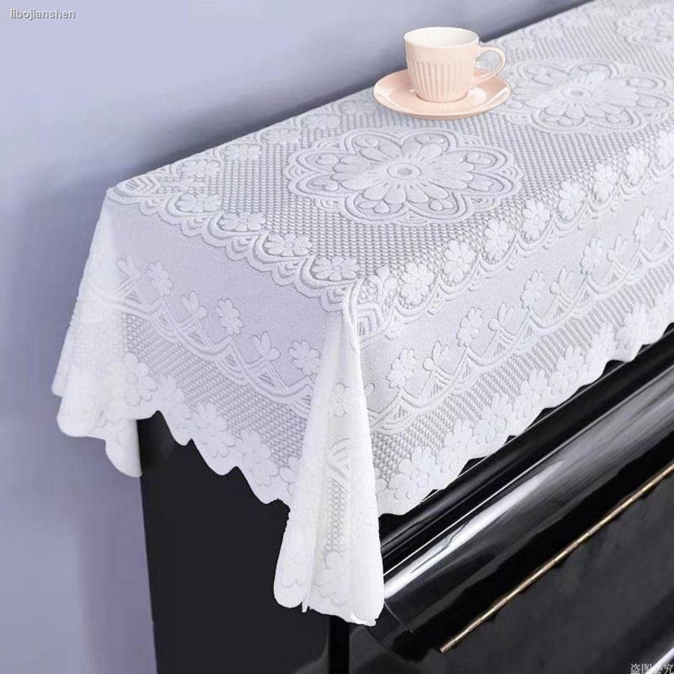 Tấm Vải Ren Phủ Đàn Piano Thiết Kế Đơn Giản Hiện Đại Ốp