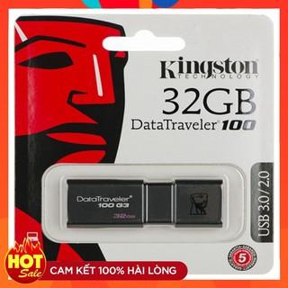 USB kings ton DT100 G3 32GB USB 3.0 - Tem FPT Vĩnh xuân