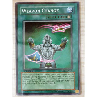 [Thẻ Yugioh] Weapon Change