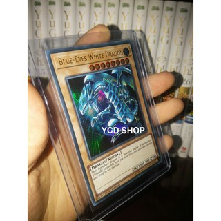 Thẻ bài yugioh chính hãng Blue-Eyes White Dragon (Earth Background) – Ultra Rare
