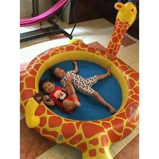 Hồ bơi bể bơi 160cm hươu cao cổ cho bé