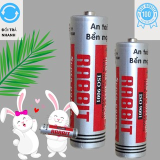 Pin Con thỏ Rabbit AA 1,5V bền bỉ, tết kiệm( Loại to) 2 viên thumbnail