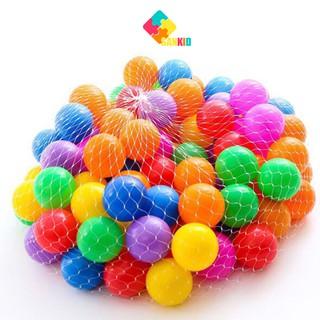 Combo 10 quả bóng nhựa mềm hàng đẹp cho bé thumbnail