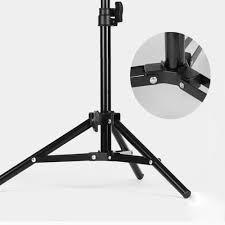 Chân đèn lớn cao 2m giá đỡ tripod Studio hỗ trợ cho điện thoại, đèn livestream đa năng gấp gọn thế hệ mới đầu ốc 1/4