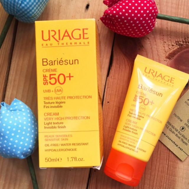 KEM CHỐNG NẮNG URIAGE EAU THERMALE BARIÉSUN CRÈME SPF50+ 50ML - 3171464 , 1042263241 , 322_1042263241 , 280000 , KEM-CHONG-NANG-URIAGE-EAU-THERMALE-BARIESUN-CREME-SPF50-50ML-322_1042263241 , shopee.vn , KEM CHỐNG NẮNG URIAGE EAU THERMALE BARIÉSUN CRÈME SPF50+ 50ML