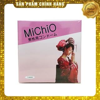 Bao cao su Gân gai siêu mỏng Michio Nhật Bản - hộp 3 chiếc thumbnail