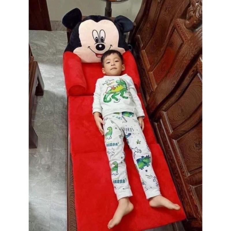Ghế sofa cho bé ⚡RẺ VÔ ĐỊCH⚡ghế lười bông hình thú - vừa ngồi vừa nằm cho bé (IB CHỌN...
