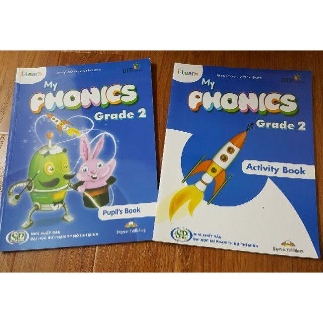 Sách i-learn học tiếng anh Phonics Grade 2