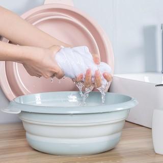 Chậu Silicone Rửa Chân Dạng Gập Tiện Dụng Cho Du Lịch