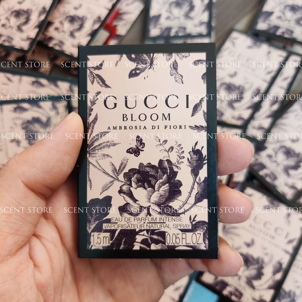 Scentstorevn - Vial chính hãng nước hoa Gucci Bloom Ambrosia di Fiori [1.5ml]