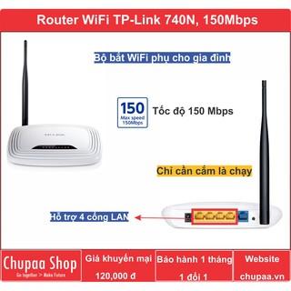 Bộ phát Wifi TP-LINK TL-WR740N (hàng mới)