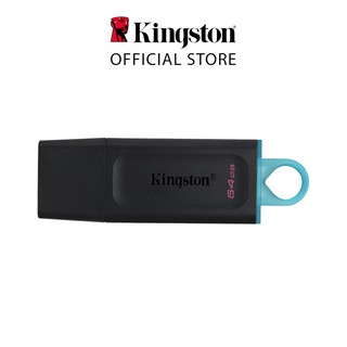 USB 3.2 Kingston DataTraveler Exodia DTX 64Gb DTX/64GB thời trang với nắp bảo vệ và móc khóa màu sắc