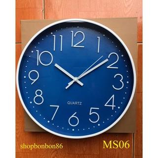 [ Hàng Nhập Khẩu ] Đồng hồ treo tường kim trôi cao cấp - Bảo hành 6 tháng