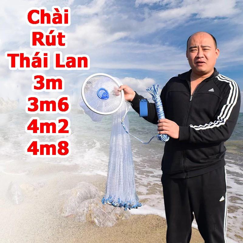 Chài bắt cá chài rút tàng hình Thái Lan 3mét - A Cường Fishing