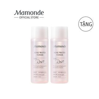 Bộ 2 chai nước hoa hồng MAMONDE Rose Water Toner 25ML/chai