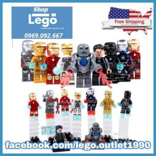 Xếp hình Iron Man Mark Lego Minifigures Decool 0160 0168 thumbnail