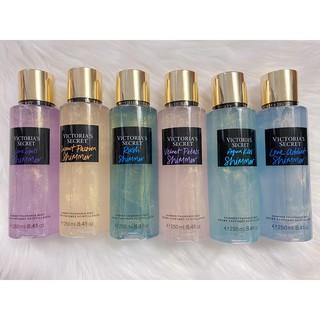 Xịt bắt sáng, xịt body toàn thân hương thơm nhẹ có nhũ, xịt thơm, sản phẩm trang điểm làm đẹp chai 250ml THÁI LAN thumbnail