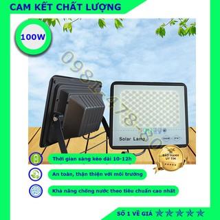 [XẢ KHO]-Đèn năng lượng mặt trời, đèn chống lóa Solar Lamp, đèn trong nhà 100W- Chính hãng, bảo hành 2 năm.