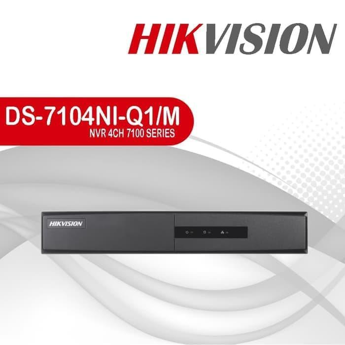 Đầu ghi hình camera IP 4 kênh HIKVISION DS-7104NI-Q1/M - Hàng chính hãng