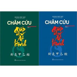 Sách xịn - Combo Châm Cứu Giáp Ất Kinh (trọn bộ 2 tập)