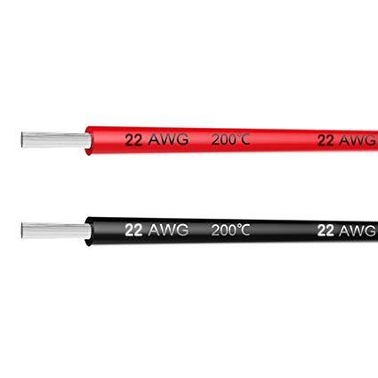 – Dây điện Silicon 22AWG lõi Niken vỏ chịu nhiệt 200 độ chuyên RC Pin Lipo PDB ESC Quadcopter