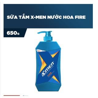 Sữa Tắm Nước hoa X-Men Fire 650g