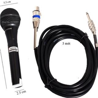 [Mã ELFLASH5 giảm 20K đơn 50K] [Freeship toàn quốc từ 50k] Micro Karaoke Shure 959 dây dài 5m