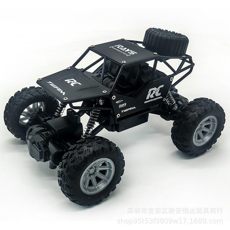 ô tô điều khiển từ xa xe địa hình -Xe leo núi 1:18 mô hình đồ chơi trẻ em PIN sạc