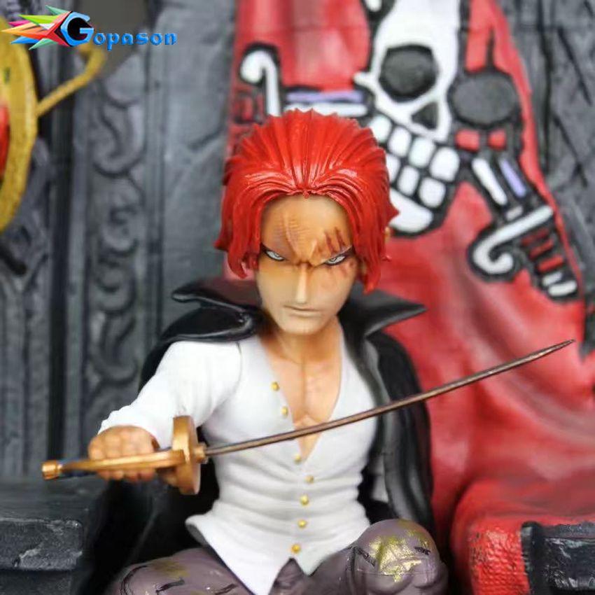 [TẶNG MÓC KHÓA] One Piece: Shanks on the throne