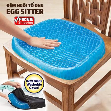 Đệm ngồi thông minh 3D, thoáng khí bảo vệ xương khớp Egg Sitter - 22818705 , 7700739186 , 322_7700739186 , 119000 , Dem-ngoi-thong-minh-3D-thoang-khi-bao-ve-xuong-khop-Egg-Sitter-322_7700739186 , shopee.vn , Đệm ngồi thông minh 3D, thoáng khí bảo vệ xương khớp Egg Sitter