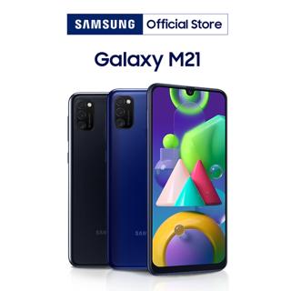 """[Nhập ELSSMT150 giảm 150k] Điện Thoại Samsung Galaxy M21 (64GB/4GB) - Hàng Chính Hãng giá chỉ còn <strong class=""""price"""">389.000.000.000đ</strong>"""