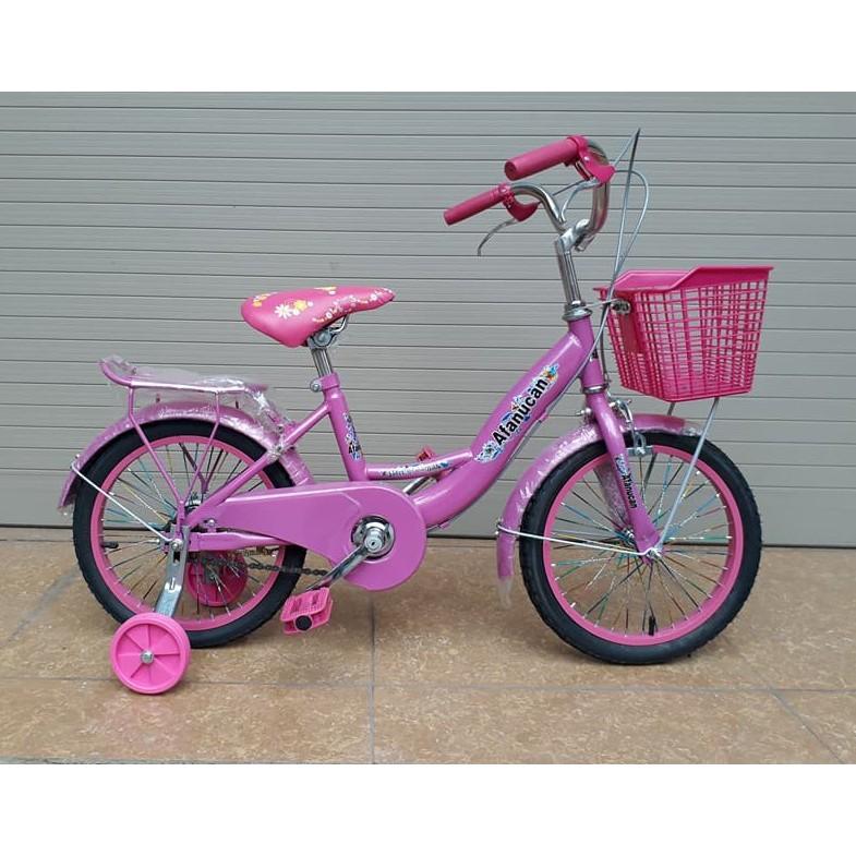 Xe đạp mini Nữ 16 inch cho bé gái 5-8 tuổi (hàng lắp ráp)