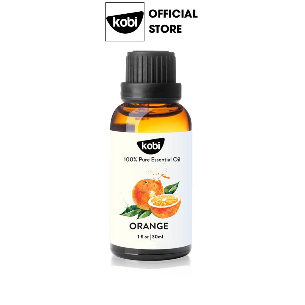 Tinh dầu Cam Ngọt Kobi giúp thơm phòng, chống trầm cảm, kích thích miễn dịch -