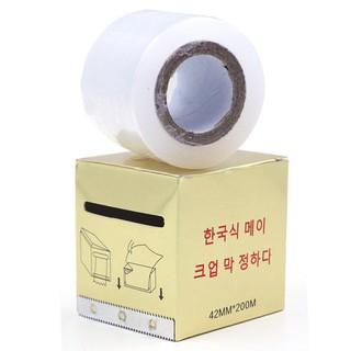 Cuộn nilon ủ tê mày, môi, mí dùng trong phun xăm, spa thumbnail