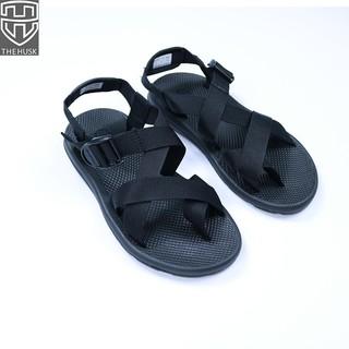 Giày Sandals Unisex TheHusk Xỏ Ngón Quai Dù Đế Cao Su - TH9 thumbnail