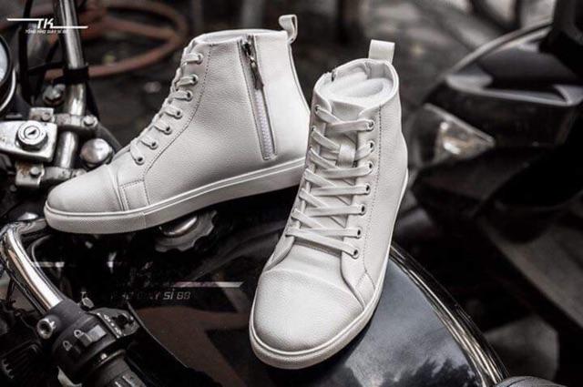 Giày Sneaker Nam Cao Cổ Khóa