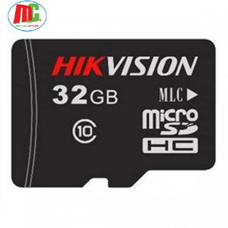 [Mã ELFLASH5 giảm 20K đơn 50K] Thẻ Nhớ Hikvision 32Gb Tốc Độ 92MB/s - Hàng Chính Hãng BH 5 Năm