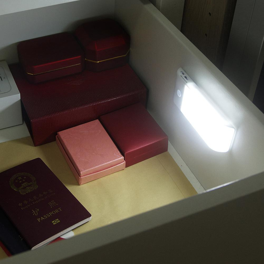 Đèn Mini Cảm Biến Chuyển Động Dùng Cho Tủ Quần Áo