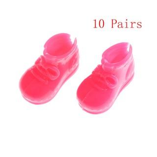 ❤❤ 10 đôi giày nhựa EVA cho búp bê