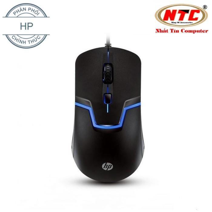 Chuột chuyên game HP M100 led nhiều màu - rất đầm tay (Đen)