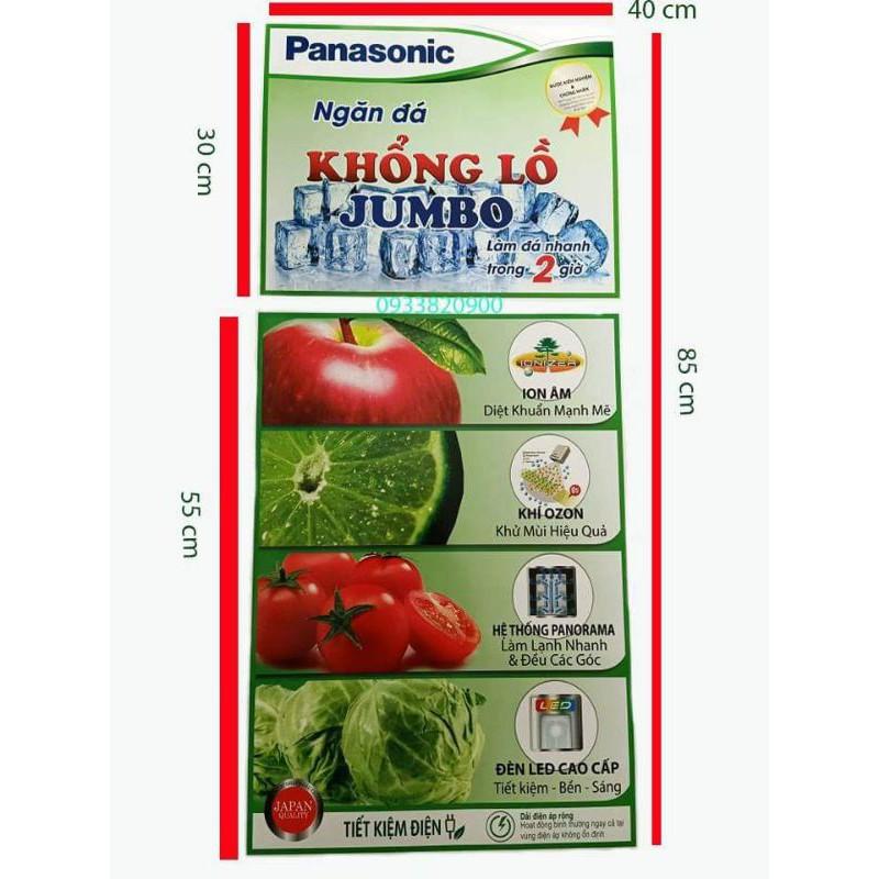 Tem dán tủ lạnh Panasonic bán chạy nhất 2020