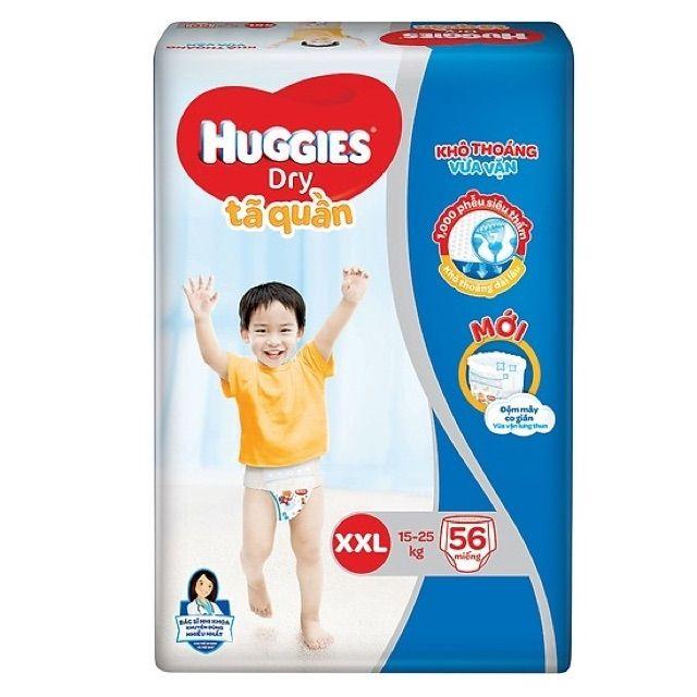 Tã quần Huggies size XXL 56 miếng