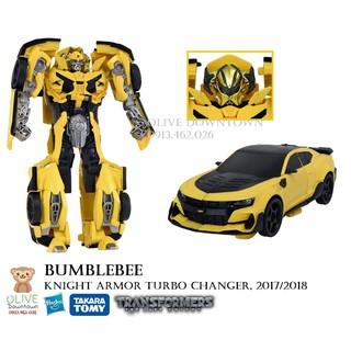BUMBLEBEE 20cm – 2 bước chuyển đổi thành xe Camaro – TRANSFORMER The Last Knight Movie